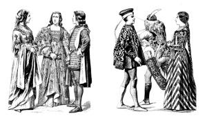moda siglo XV