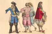 moda siglo XVII