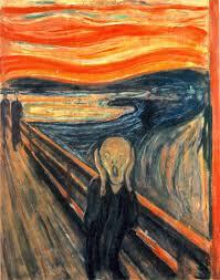 """""""EL Grito"""", Munch (1910)"""