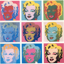 """Marilyn Monroe"", Andy Wharwol (1962)"