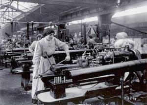 Fábrica textil del siglo XIX.